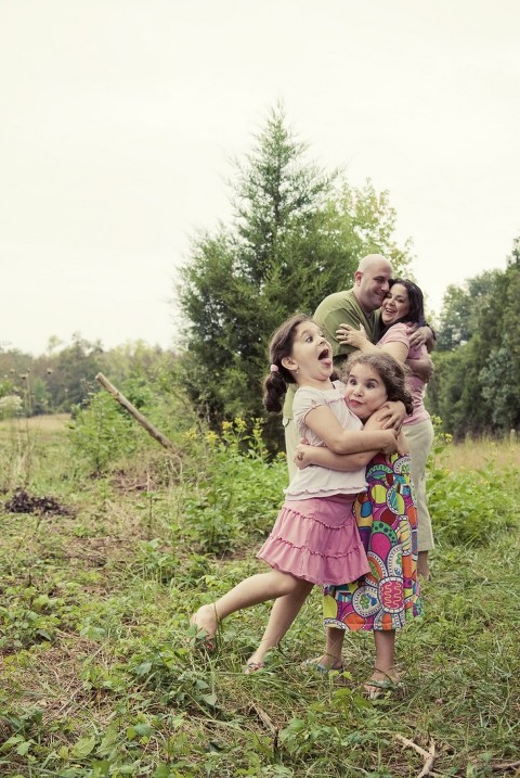 Fort Mill Photographer Funny FAmily Portrait