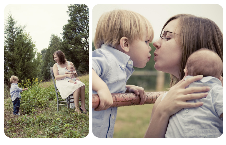 Fort Mill Family Photography | Mommy kisses