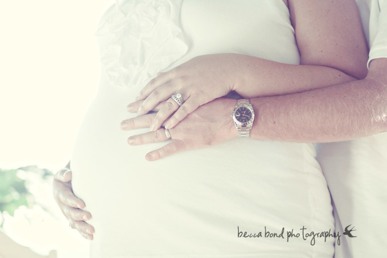 baby belly portrait by Charlotte area photographer