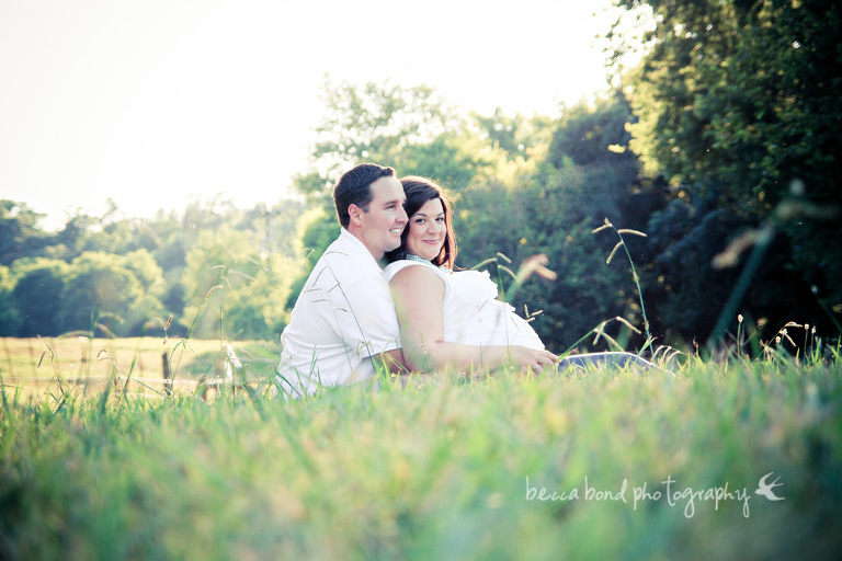 Maternity portrait of mother to be in Charlotte NC