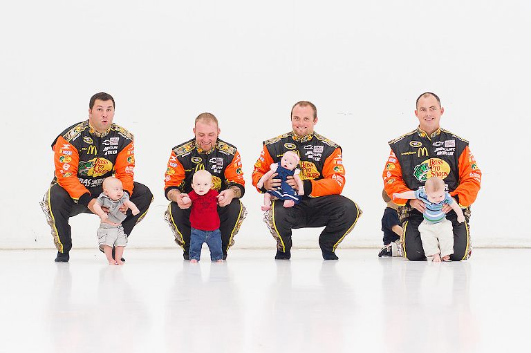 Charlotte Parent Photo Shoot w NASCAR