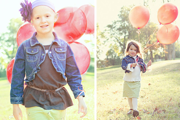 balloons and kids duo