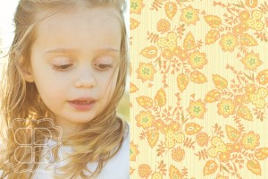 Vintage styled child portrait taken using natural light in field near Charlotte NC
