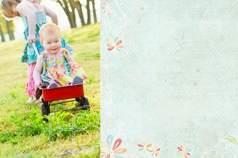 Vintage inspired Children's photography picture in Charlotte NC.