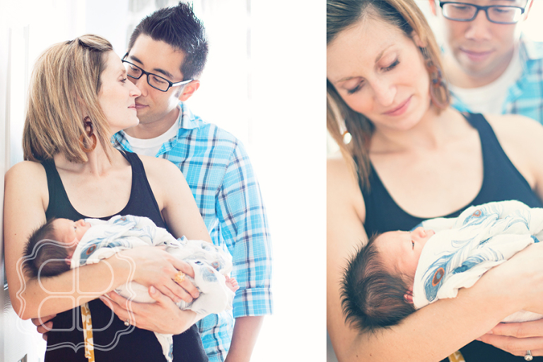 Charlotte NC newborn baby and family photographer picture