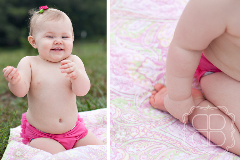 birthday photography for baby