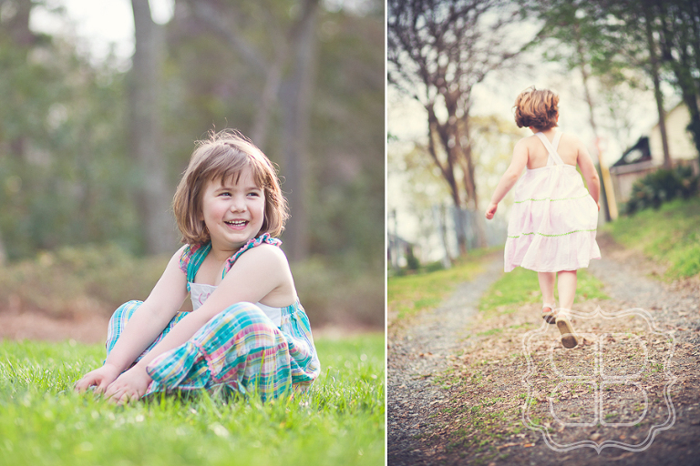 Children's portrait photographer in Charlotte
