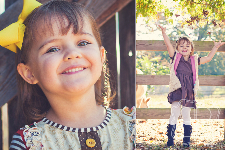 Perfect autumn family shoot