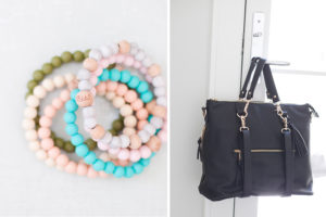 Bella Tunno Boss Bag and bracelets