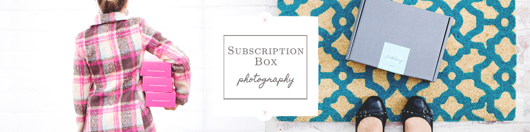 Subscription Box Photographer