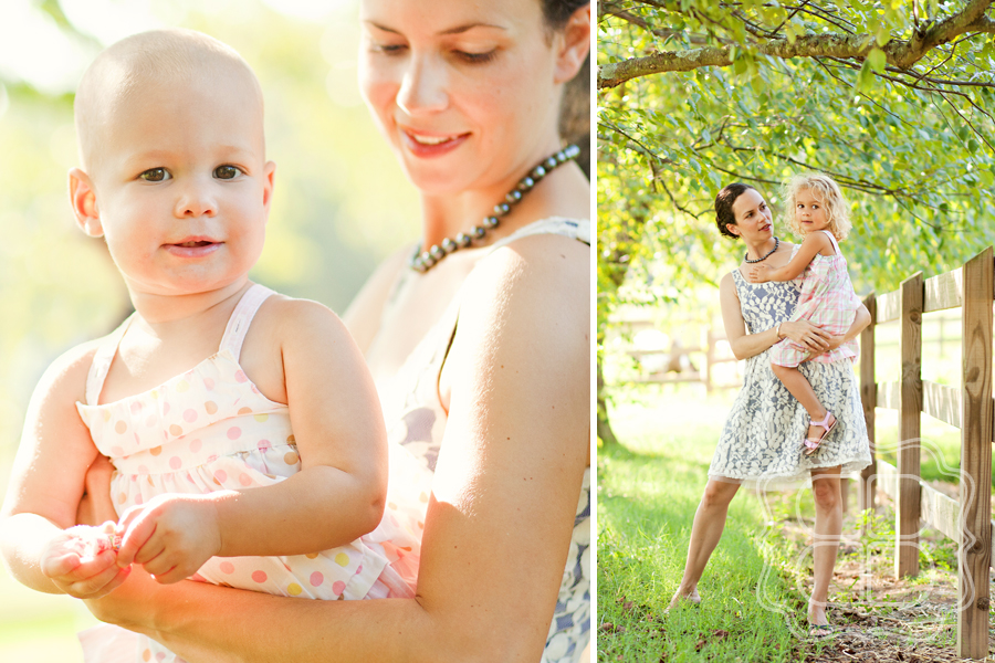 Outdoor family photos by Charlotte photographer