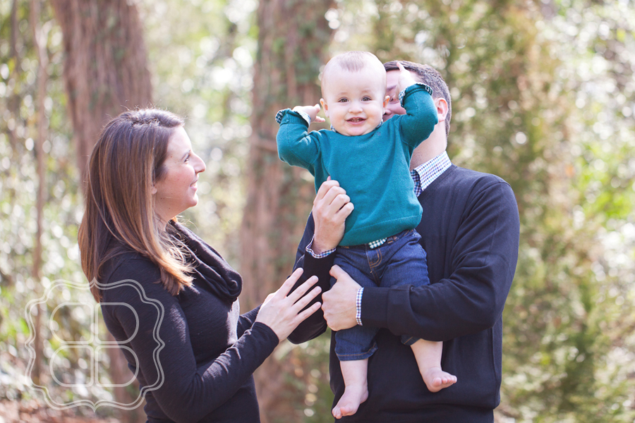 Baby Photo for one year old by Charlotte photographer